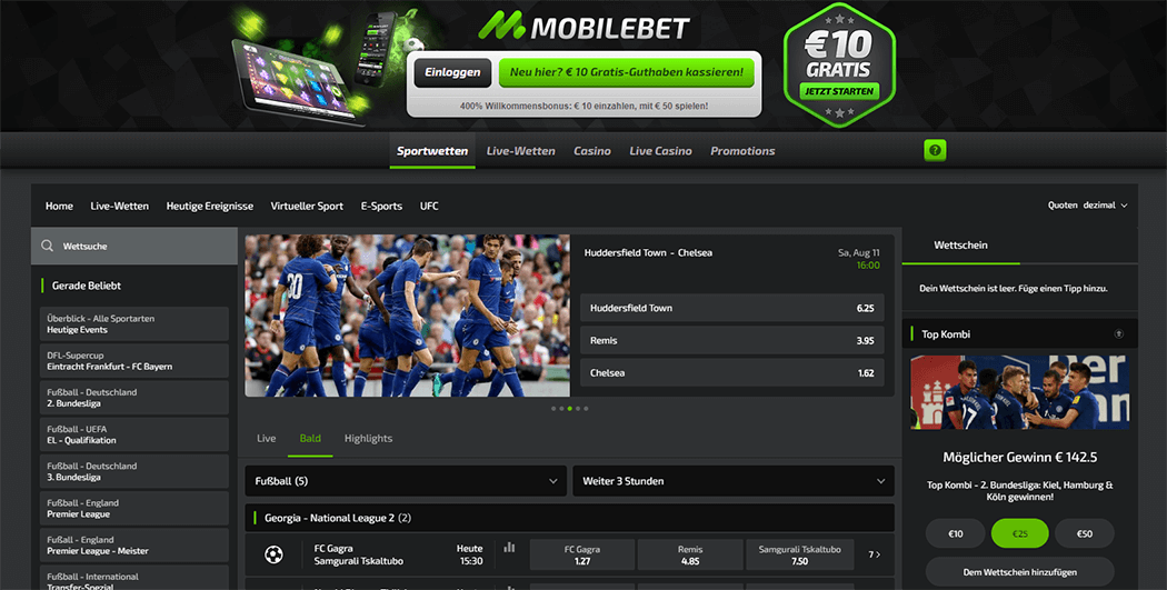 Mobilebet Webseite Screenshot_3