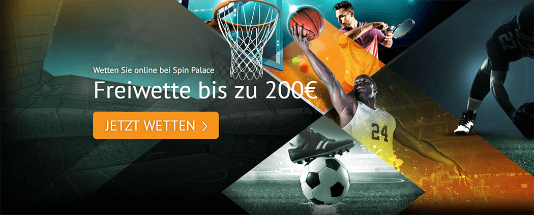 Spin Palace Sports Freiwette