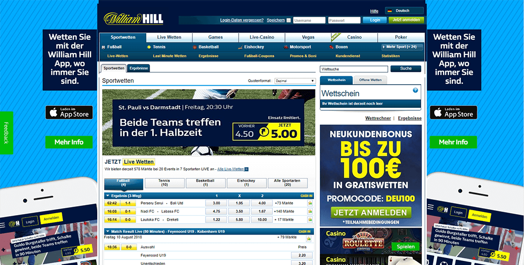 William Hill Sport Webseite_2