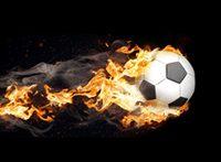 Brennender Ball