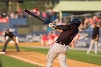 Ein Baseball Spieler