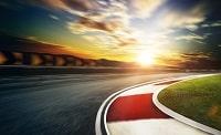 Eine Motorsport Rennstrecke