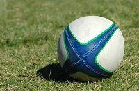 Ein Rugbyball