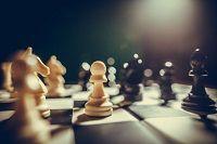 Ein Schachbrett