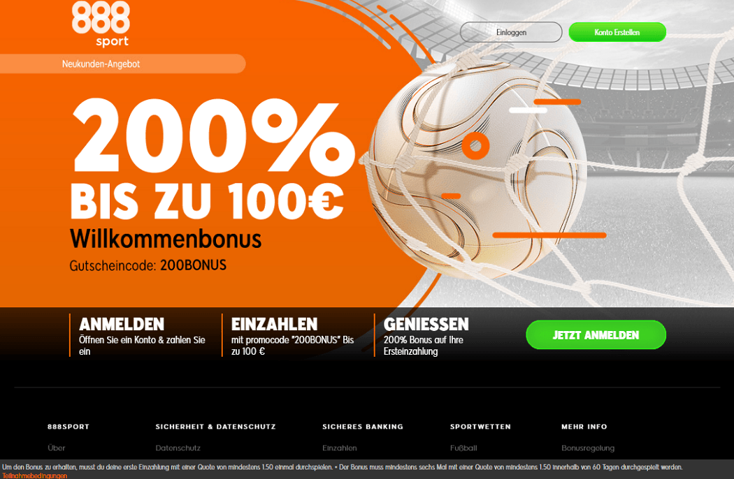 888Sport Willkommensbonus_2