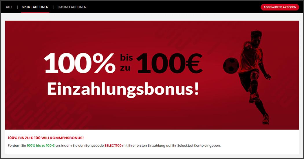 Selectbet Willkommensangebot_Neu